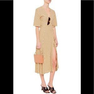 Anthropologie Dresses - ‼️NWT Anthropologie Lula Dot Midi Dress XS‼️